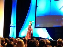 On Stage at the Annie Awards