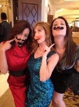 The Mustache Girls with Diana & Ivy