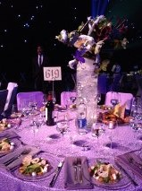 My table  All the centerpieces were amazing
