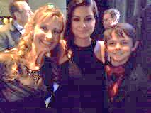 With Ariel Winter & Max Charles